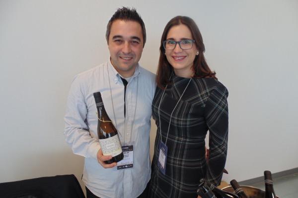 Carlos García und Frau Laura vom Weingut Hacienda de la Pajarera