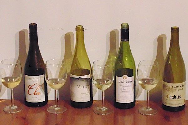 Chardonnay aus drei Ländern