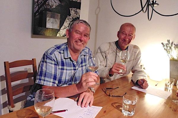 Dick + Simon, Rueda Verdejo Tasting
