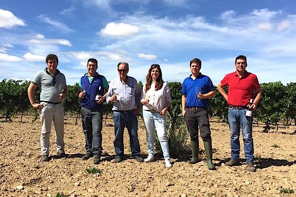 Familie Descalzos-Matos, La Granadilla, Verdejo-Feld