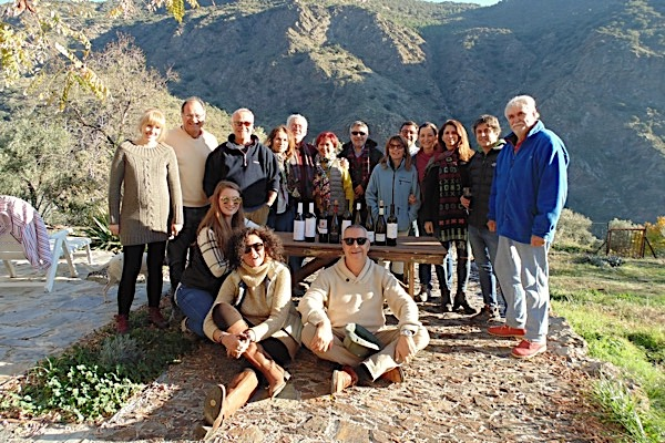 Familie Lopez Medina bei unserer Blindverkostung