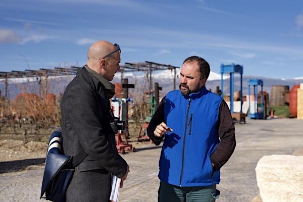 mit Francisco Molina von Cuatro Vientos