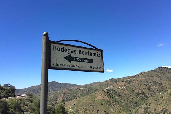 Bodegas Bentomiz bei Sayalonga