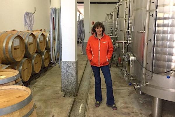Clara Verheij in der Kellerei