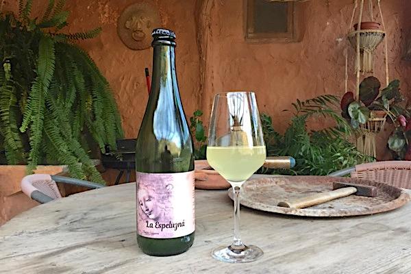 Apfelschaumwein La Espeluzna aus Sierra Nevada
