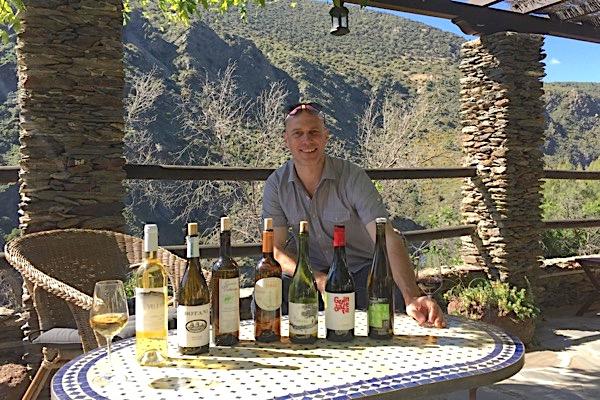 Thomas Götz in Casa Ana, Ausgangspunkt der Weinwoche