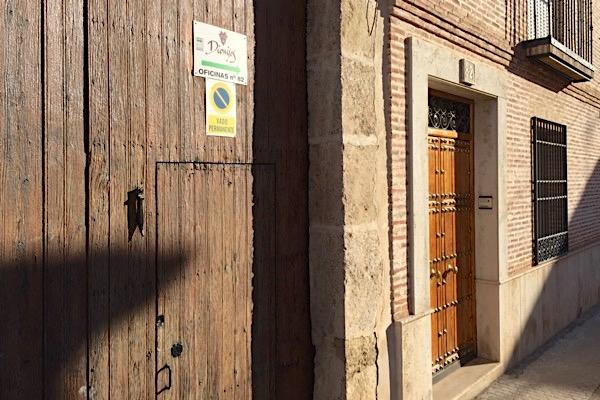 Eingang zu Bodega