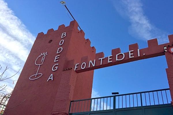 Bodegas Fontedei, Eingang in Deifontes