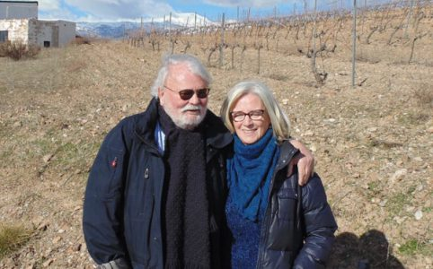 Peter Hilgard und Isabel del Olmo von Bodega Los Barrancos