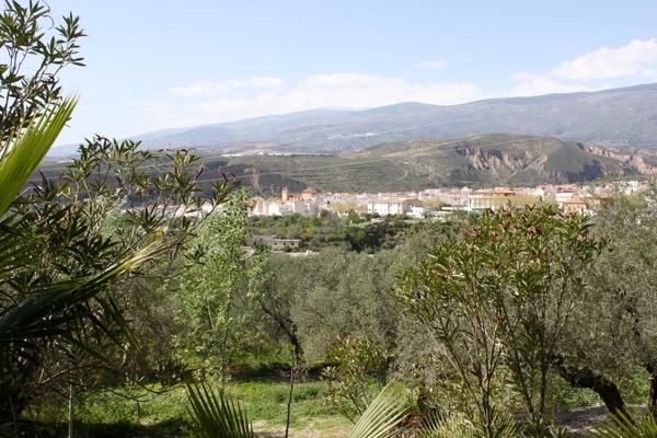 Blick von Dominio Buenavista auf Ugijar
