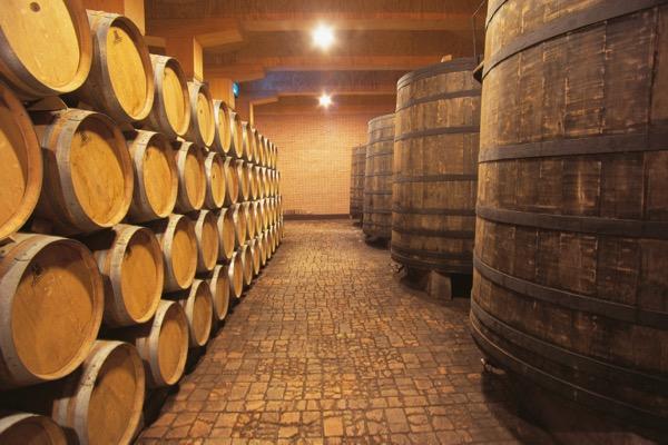 Weinkeller von Vega Sicilia