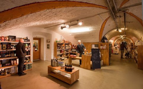 Wein-Bastion Ulm, innen