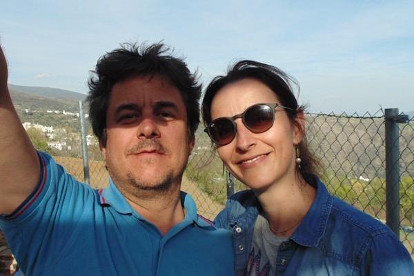 Paula und Sergio, unsere Gastgeber