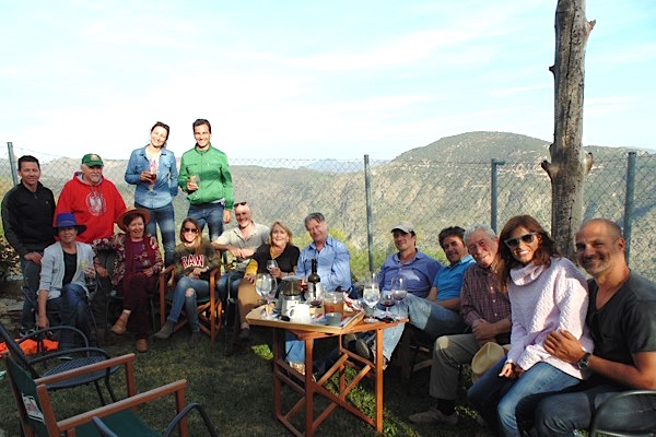 Gruppenbild am Ende des Nachmittags