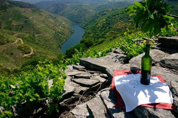 Ribeira Sacra, Steillage am Fluss Sil