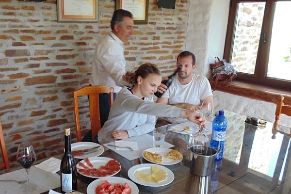 Weinprobe bei Méndez Moya
