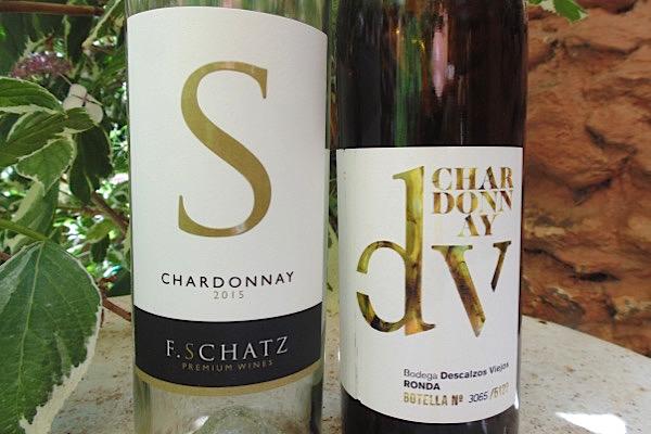 Chardonnay von F. Schatz und Descalzos Viejos