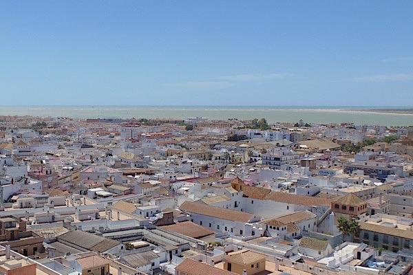 Sanlúcar de Barrameda am Atlantik