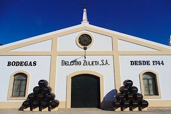 Bodegas Delgado Zuleta, Sanlúcar de Barrameda, Andalusien