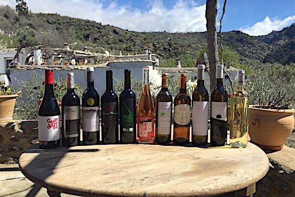 Weine aus Axarquia, Alpujarra und Sierra Nevada