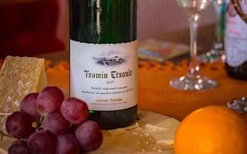 Weißwein aus Hondarribi