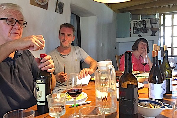 Alan und Matt mit Machoman