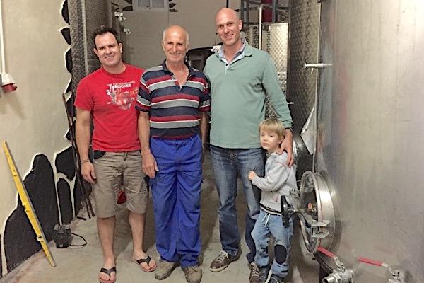 Im Weinkeller mit den Garcias