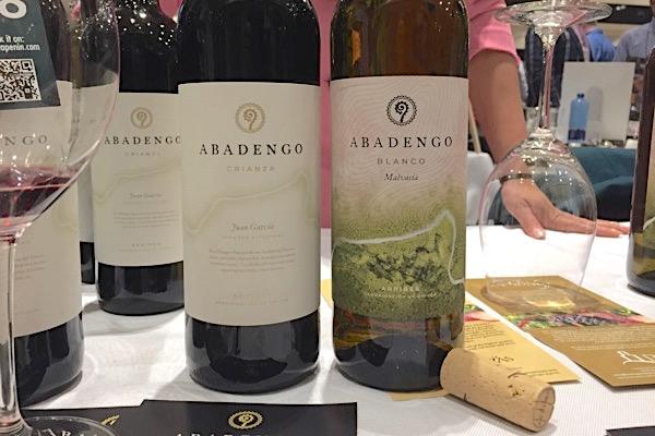 Abadengo Weine weiß und rot