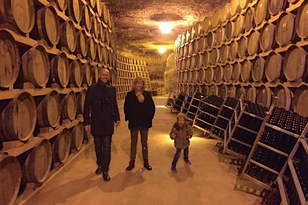 Im Weinkeller von Verum