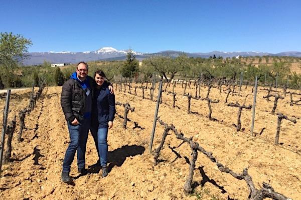 Marc Becker und Askoa Fernandez bei Barranco Oscuro
