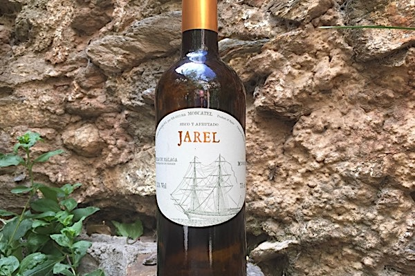 Elegant und fein: das Etikett des Jarel Seco.