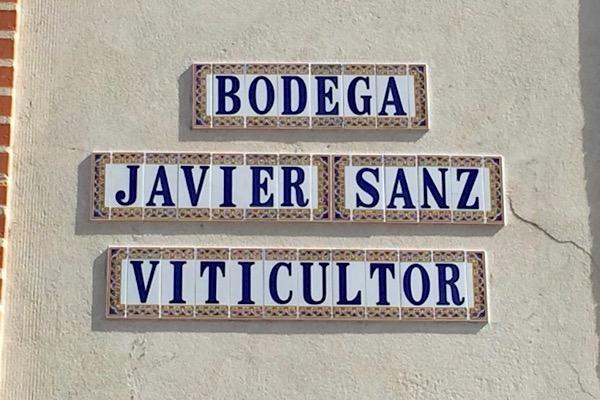 Eingang zur Bodega von Javier Sanz, La Seca, DO Rueda.