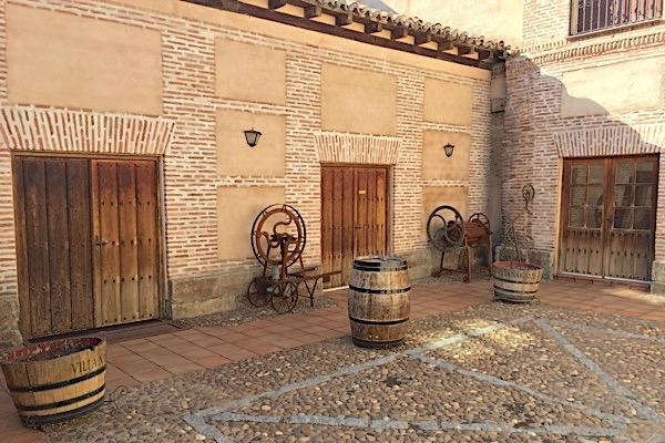 Alte Bodega von Javier Sanz in La Seca.
