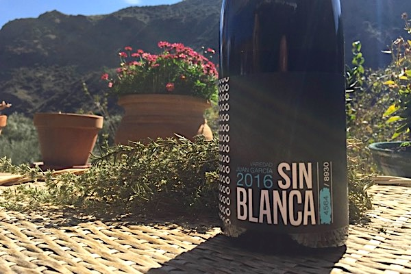 Sin Blanca 2016. Top-Rotwein aus Juan García.