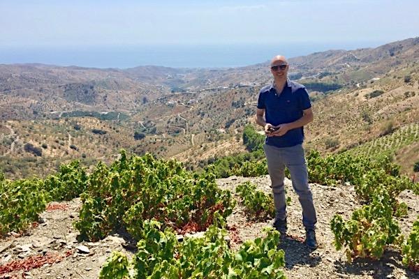 In den Sierras de Málaga. Einige meiner Lieblingsweine 2019 kommen von dort.
