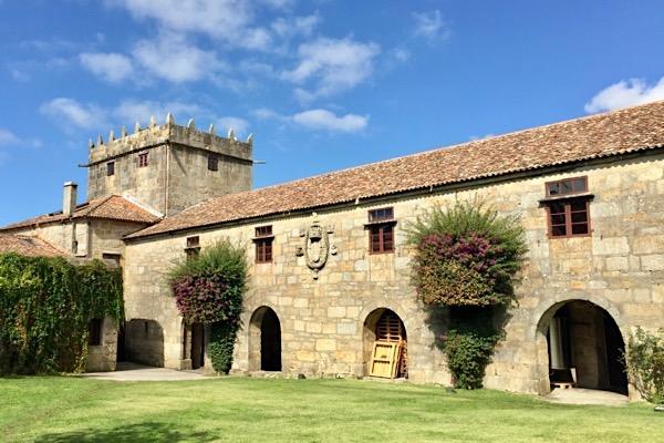 Palacio de Fefiñanes in Cambados, D.O. Rias Baixas