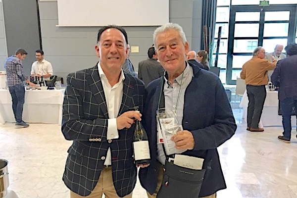 Mit Victor López auf dem Salón Selección Málaga von Guía Peñín