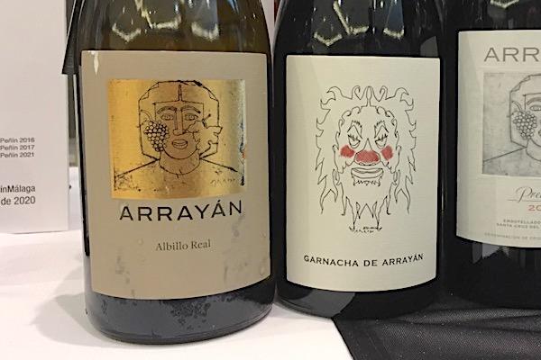 Arrayan, zwei schöne Weine