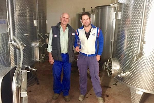 Antonio und Alberto Garcia vom Weingut Garcia de Verdevique. Granada, Andalusien.