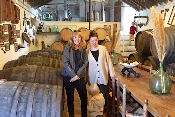 Emily von Spaniens Weinwelten mit Maria Avila von Vinos Jarel
