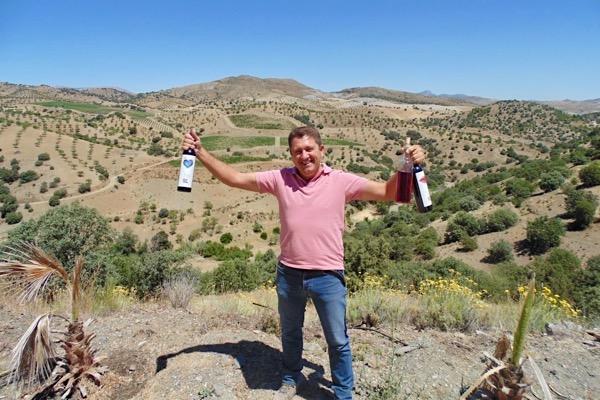 Zur Abwechslung mal in Almeria. Francisco Garcia von Bodega Palomillo