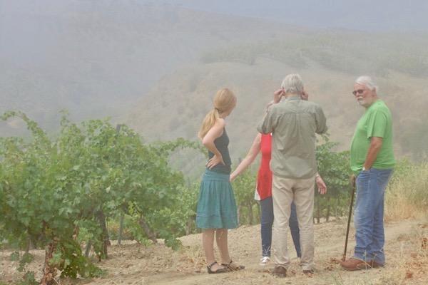 Mit Peter Hilgard und Isabel del Olmo in der Contraviesa.