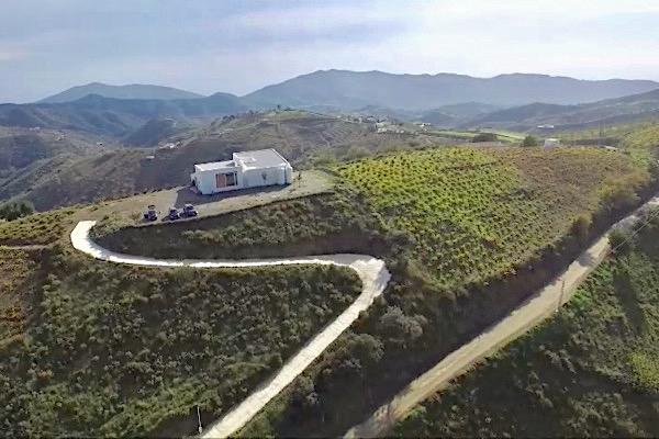 Das Weingut Sedella in der Axarquia.