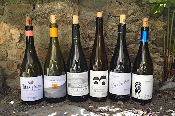 Trockene Weißweine aus Andalusien. Aus den Sorten Palomino Fino, Pedro Ximénez und Moscatel de Alejandría