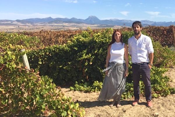 Huerta de Albalá, Weinberg, Elisa Martin und Santiago Jordi, Titel