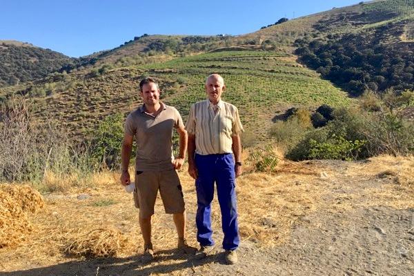 Alberto und Antonio Garcia vom Weingut Garcia de Verdevique