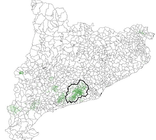 Das Corpinnat-Gebiet in Katalonien