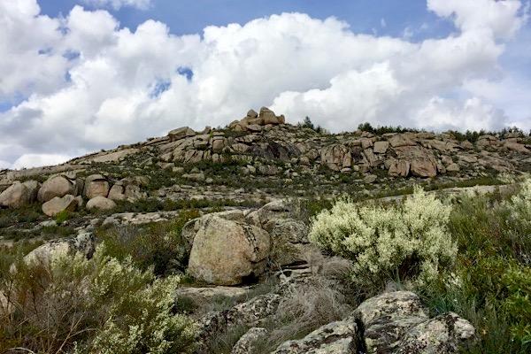 Landschaft bei Villanueva de Avila, Kastilien-La Mancha, Sierra de Gredos