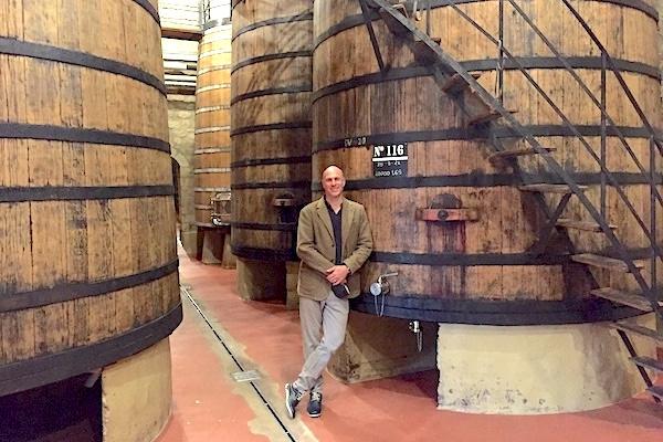 Bei Bodegas Muga in Haro, Rioja Alta
