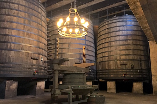 60.000-Liter-Holztanks bei Vina Tondonia
